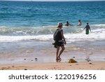 crystal cove  california  ... | Shutterstock . vector #1220196256