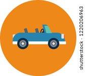 transportation flat icons.... | Shutterstock .eps vector #1220206963
