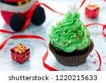 Christmas Tree Cupcake ...