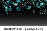 winter vector background with... | Shutterstock .eps vector #1220216293