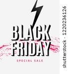 black friday sale design... | Shutterstock .eps vector #1220236126