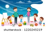 vector illustration of student...   Shutterstock .eps vector #1220245219