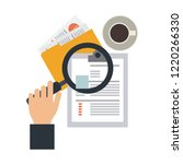business and office elements | Shutterstock .eps vector #1220266330