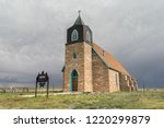 Very Old Pretty Church In The...
