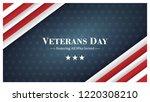 veterans day  november 11 ... | Shutterstock .eps vector #1220308210