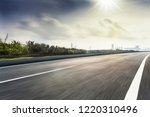 roads and modern cities | Shutterstock . vector #1220310496