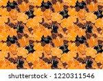 trendy print in yellow  black... | Shutterstock . vector #1220311546