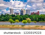 tulsa  oklahoma  usa downtown... | Shutterstock . vector #1220319223