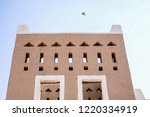 an old clay heritage building...   Shutterstock . vector #1220334919