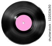 vinyl record isolated on white | Shutterstock . vector #122033650