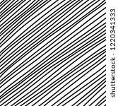 diagonal lines in hand drawn... | Shutterstock .eps vector #1220341333