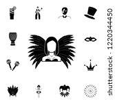 carnival participant icon....   Shutterstock .eps vector #1220344450