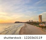 sunrise at burleigh heads on... | Shutterstock . vector #1220363119