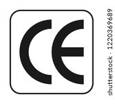 cardboard package sign vector...   Shutterstock .eps vector #1220369689