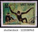 vietnam   circa 1981  a stamp...   Shutterstock . vector #122038963