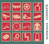 Bicycle Classical Icon Set