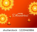 happy dhanteras illustration... | Shutterstock .eps vector #1220460886