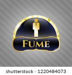 gold shiny badge with...   Shutterstock .eps vector #1220484073