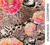 Seamless Textile Pattern. Wild...
