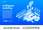 smart building concept... | Shutterstock . vector #1220545906