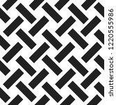 seamless woven stripes lattice... | Shutterstock .eps vector #1220555986