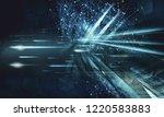 3d rendering of digital... | Shutterstock . vector #1220583883