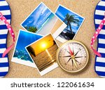 Traveling Photos Collage With...