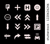direction icon. direction...   Shutterstock .eps vector #1220626246