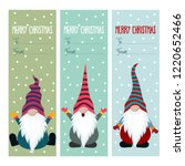 christmas labels collection... | Shutterstock .eps vector #1220652466