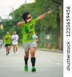 nonthaburi thailand october 14... | Shutterstock . vector #1220659456