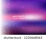 abstract blur multicolored ... | Shutterstock .eps vector #1220668063