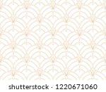 seamless art deco pattern.... | Shutterstock .eps vector #1220671060