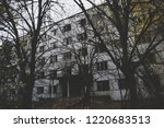 abandoned building house in... | Shutterstock . vector #1220683513