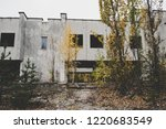 abandoned building house in... | Shutterstock . vector #1220683549