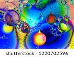 varicolored  balls  christmas... | Shutterstock . vector #1220702596