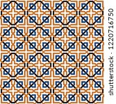 Tiles geometric arabesque style pattern, usually used in tiles in Spain, Portugal and other Mediterranean and arabic countries