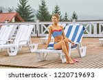 portrait of young hot woman...   Shutterstock . vector #1220719693