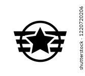 insignia icon. trendy insignia... | Shutterstock .eps vector #1220720206