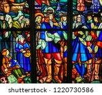 mortagne au perche  france  ... | Shutterstock . vector #1220730586