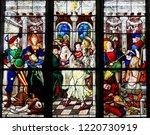 mortagne au perche  france  ... | Shutterstock . vector #1220730919