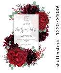Wedding Vector Floral Invite ...