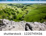 View From The Top Of Malham...