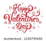 hand drawn elegant modern brush ...   Shutterstock .eps vector #1220759650