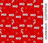 cute lovely christmas seamless...   Shutterstock .eps vector #1220765416