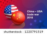 flags of united states of...   Shutterstock .eps vector #1220791519