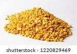 daal chana  heap of yellow... | Shutterstock . vector #1220829469