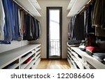 beautiful apartment  interior ... | Shutterstock . vector #122086606