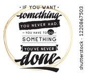 inspirational quote  motivation....   Shutterstock .eps vector #1220867503