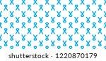 prostate cancer light blue... | Shutterstock .eps vector #1220870179