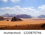 red mountains of the canyon of... | Shutterstock . vector #1220870746